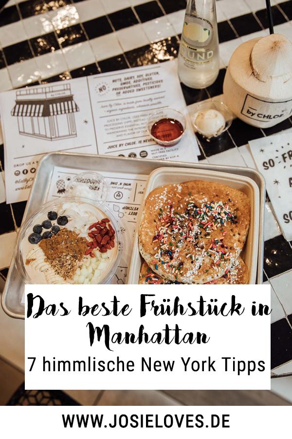 Das beste Frühstück in Manhattan