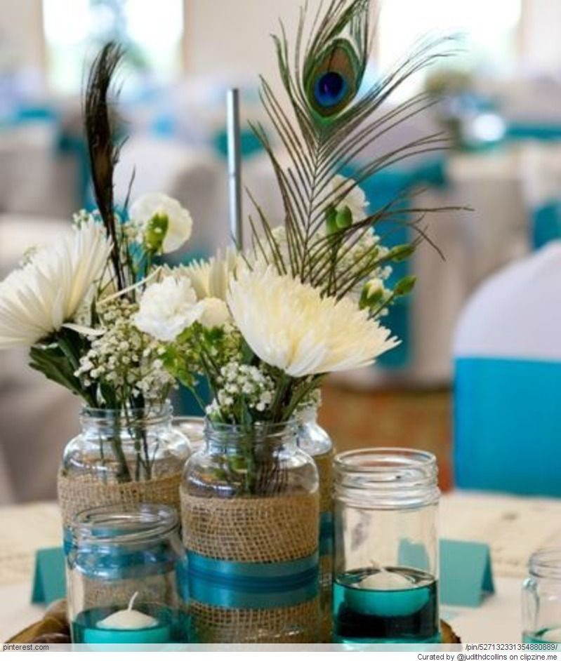Cute Wedding Centerpiece Ideas: This Is Such A Cute And Simple Centerpiece Idea