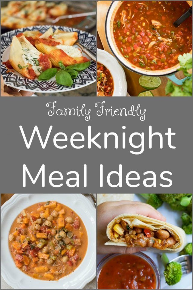Family-Friendly Weeknight Dinner Ideas images