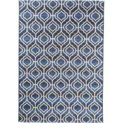 Photo of benuta Plus indoor & outdoor carpet Artis Blue 200×285 cm – for balcony, terrace & garden