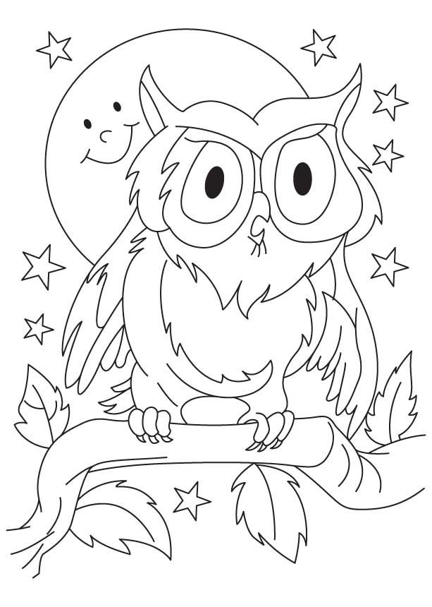 Great Horned Owl Coloring Page Download Free Great Horned Owl