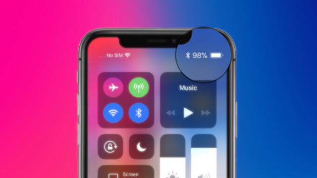 بالشرح تعرف على كيفية إظهار نسبة البطارية على أجهزة آيفون X وxr وxs Apple Iphone Iphone Apple
