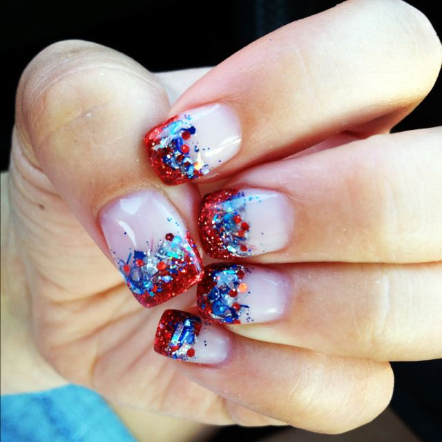4th of July nails is part of nails - nails
