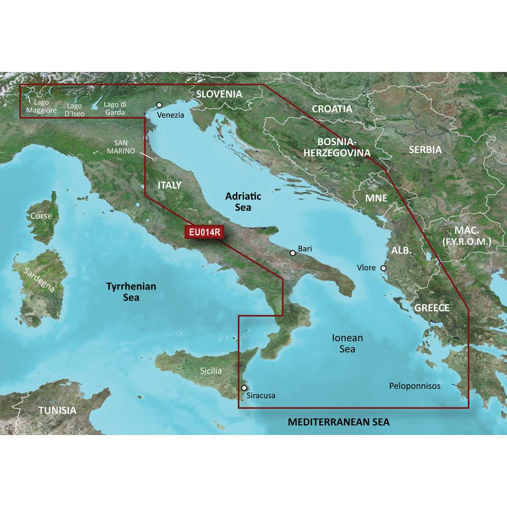 See Garmin Bluechart At Bargains Delivered Http Www Bargainsdelivered Com Products Garmin Bluechart Reg G2 Hd Hxeu014r Italy With Images Adriatic Sea Italy Garmin