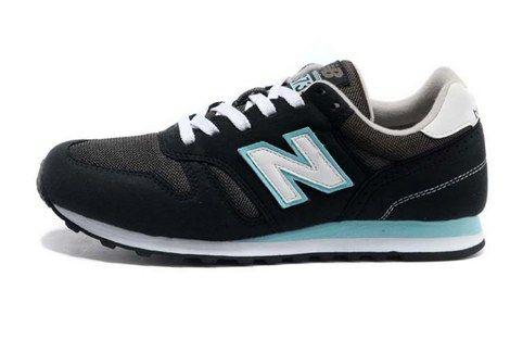 new balance 373 black blue
