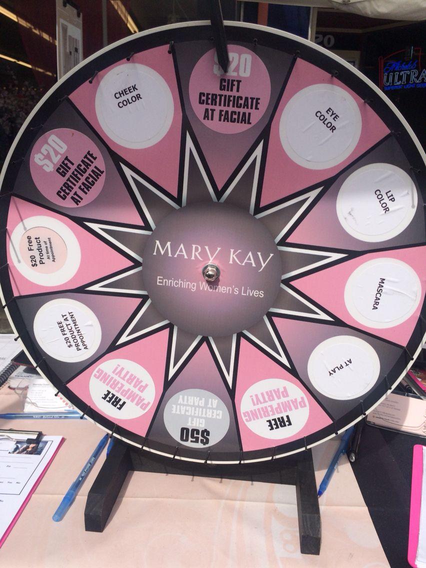 Mary kay prize wheel