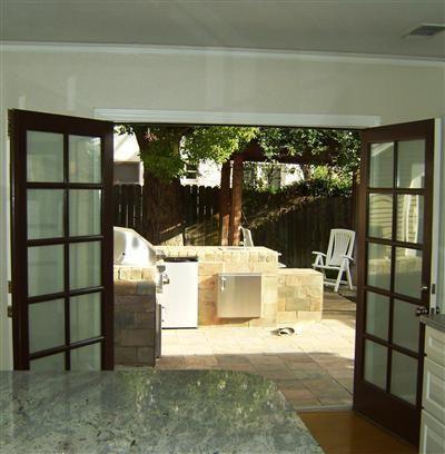French Doors. Open In Or Out? (replacing Garage Door)