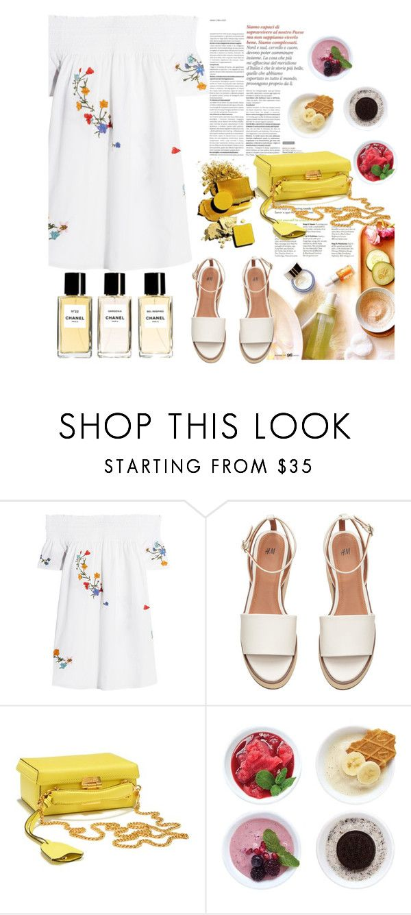 """Untitled #2092"" by amimcqueen ❤ liked on Polyvore featuring Tory Burch, Chanel, Mark Cross and Zoku"