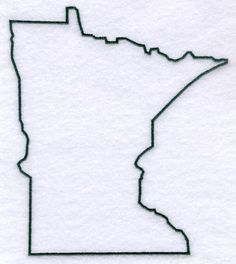 Minnesota outline tattoo tattoo pinterest outlines for State outline tattoo