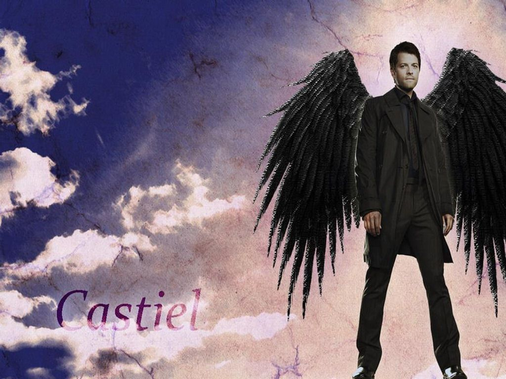 Castiel Wings Wallpaper Iphone