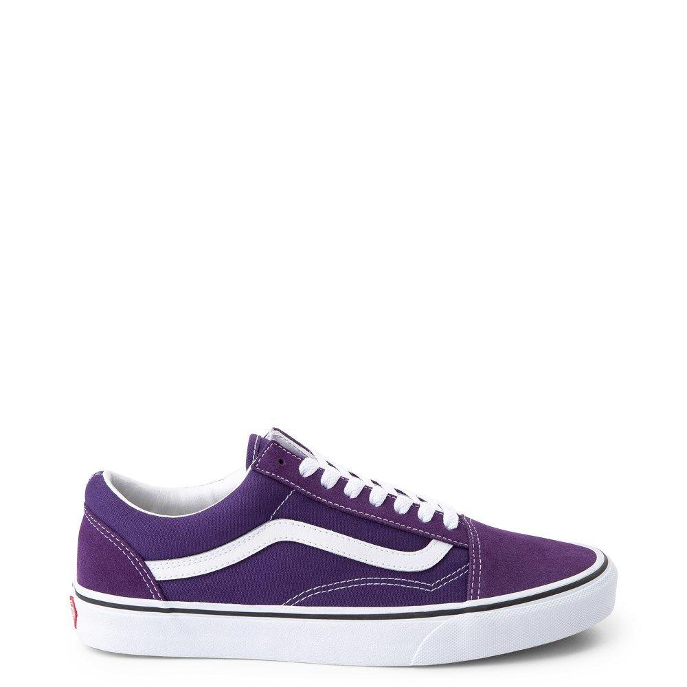 Vans Old Skool Skate Shoe - Violet