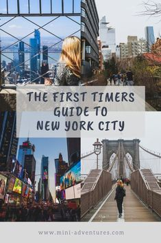 The Essential Guide for your first visit to New York City - the best things to see and do in NYC #newyork #nyc