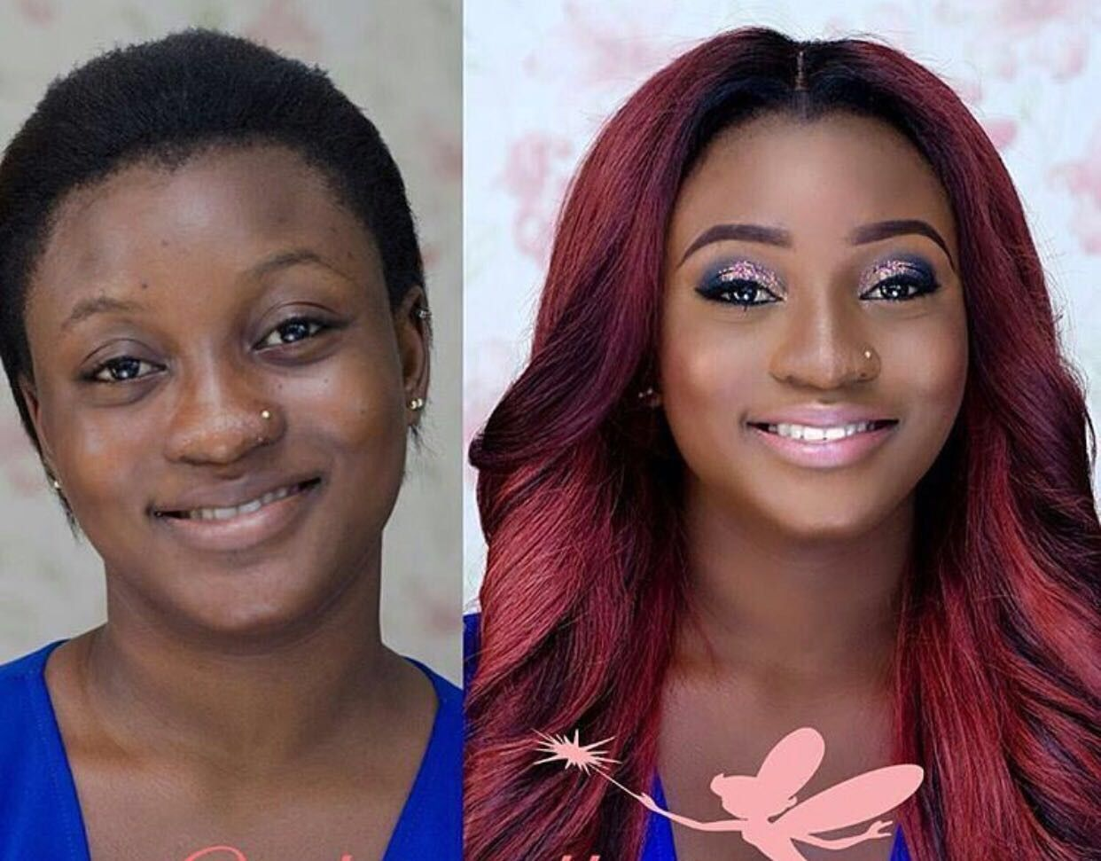 BLACK GIRL MAKE UP — Transformation make up Black girl