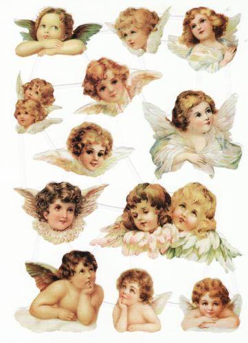 Glanzbilder Daenischer Reprobogen 12 Klassische Engel Putten Asthetische Kunst Engel Kunst Engel