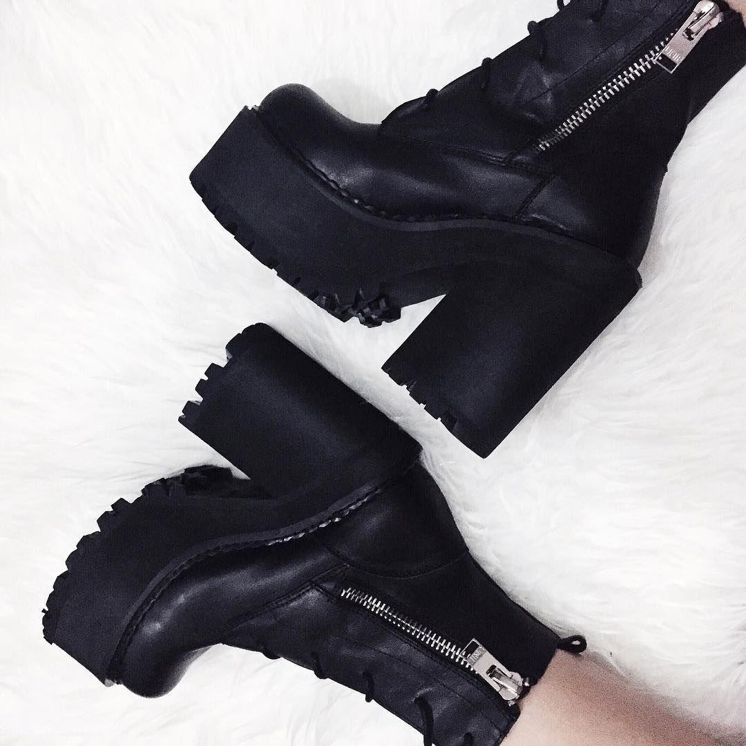 Get a little UNIF in your life.    Shop shoes: http://www.nastygal.com/shoes?utm_source=pinterest&utm_medium=smm&utm_term=omg_shoes&utm_campaign=ngdib