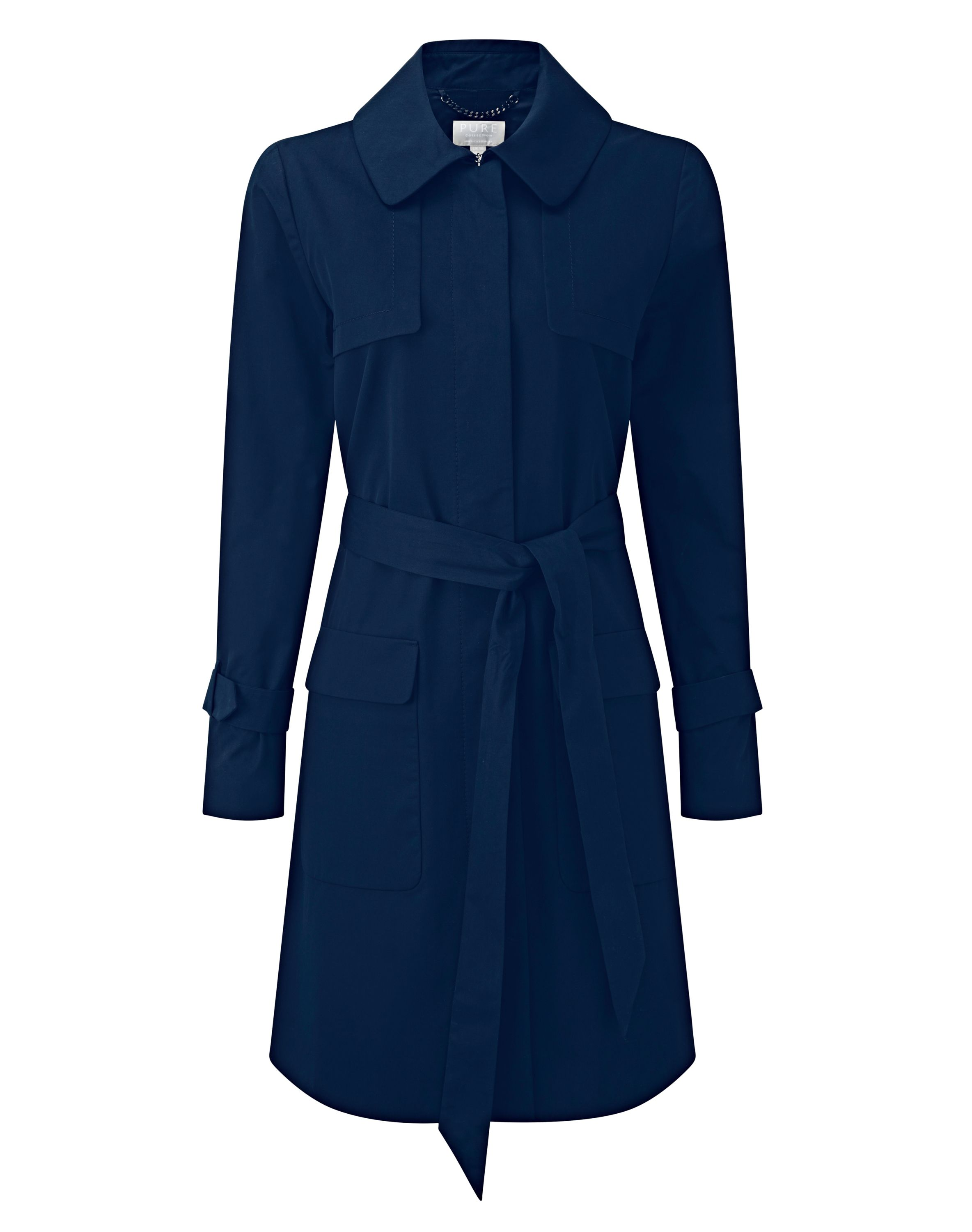 Nothing says sophistication like the trench, and the understated minimalism of this elegant new rework of a classic speaks volumes. The mid-length is...