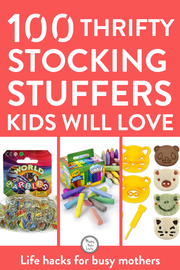 The BEST stocking filler ideas for kids | Mums Make Lists