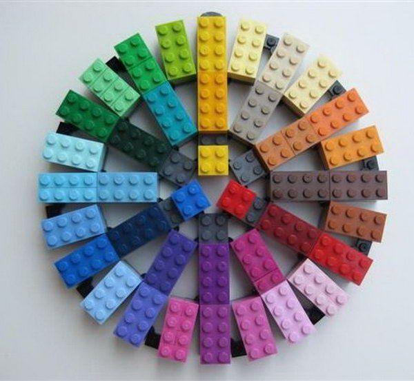 Lego Color Wheel