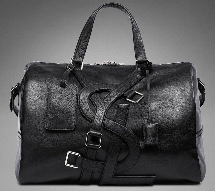 7c2cb362f5dd YSL Vavin Black Classic Leather Bag