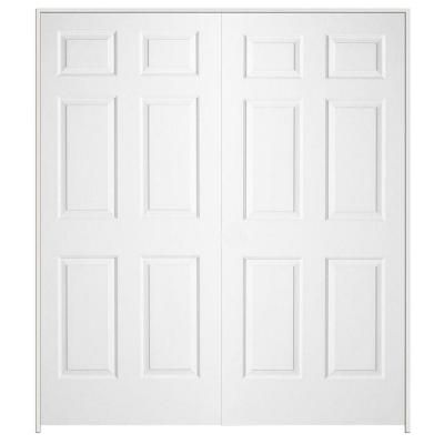 textured 6panel solid core primed molded prehung interior double door901578 at the interior door texture26 door