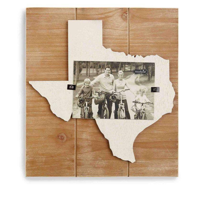 Mud Pie Texas Frame | Home ❤ | Pinterest