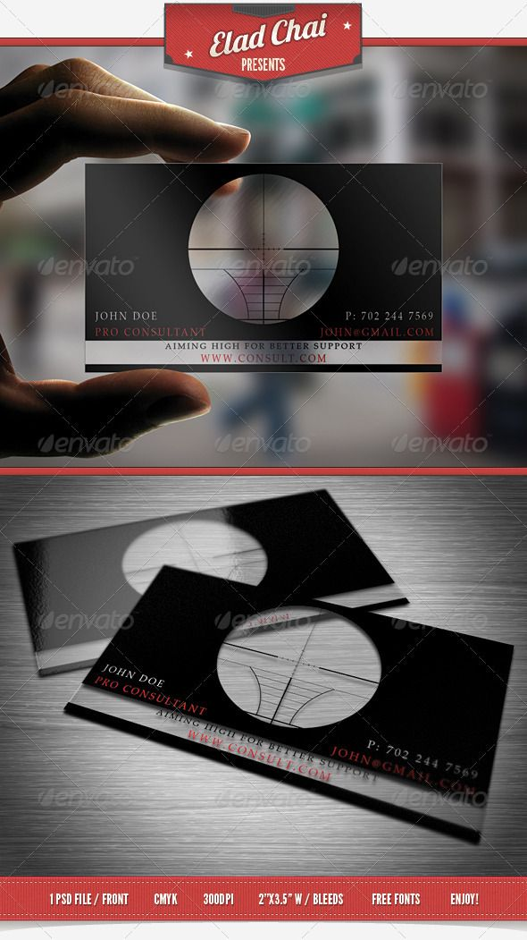 Translucent Consultant Business Card | Consultant business, Business ...