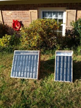 Diy Solar Heaters Made From Soda Cans Make For The New Chicken Coop For The Winter Solar Heater Diy Solar Energy Diy Solar