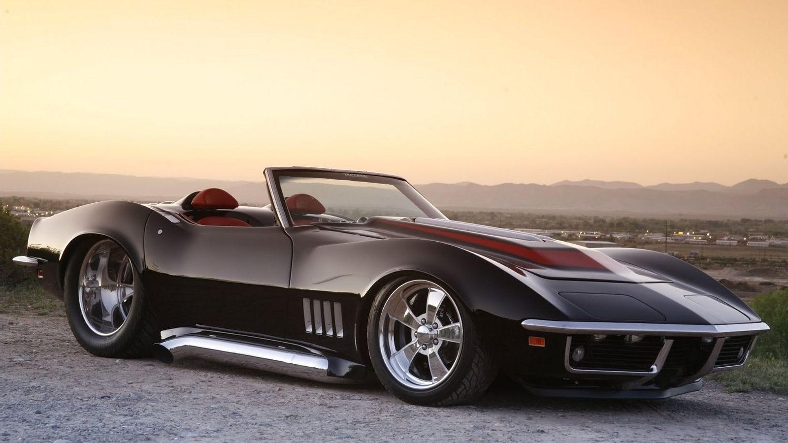1969 Pro Street Vette Roadster Corvette Custom Chevrolet Corvette Corvette