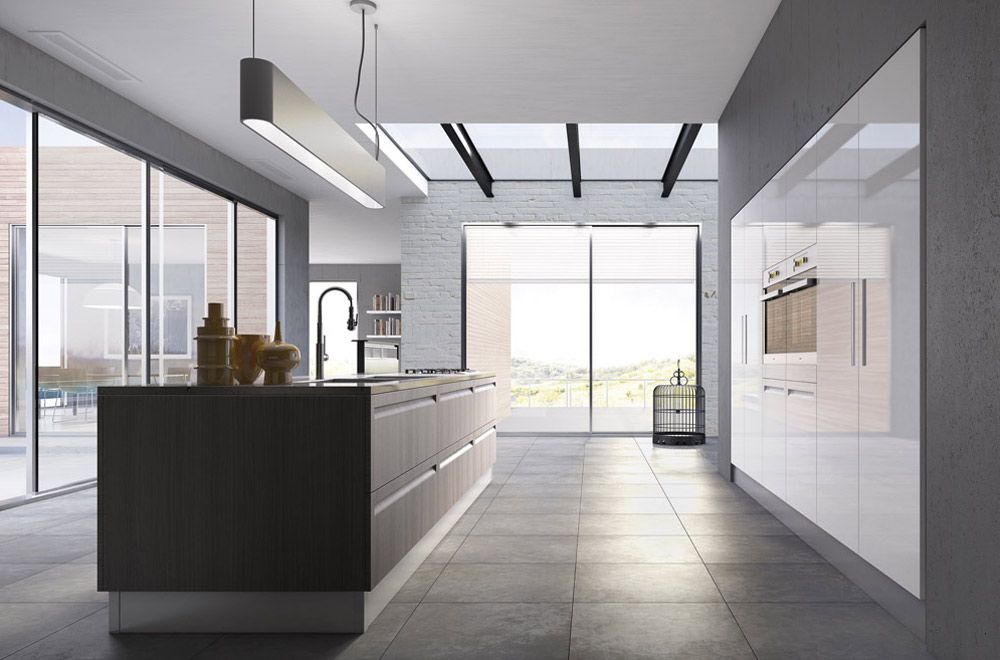 collezioni senza pensili | cucine | Pinterest | Interiors and Kitchens