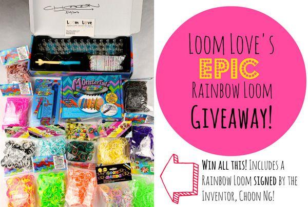 Enter Loom Love's Epic Rainbow Loom Giveaway!