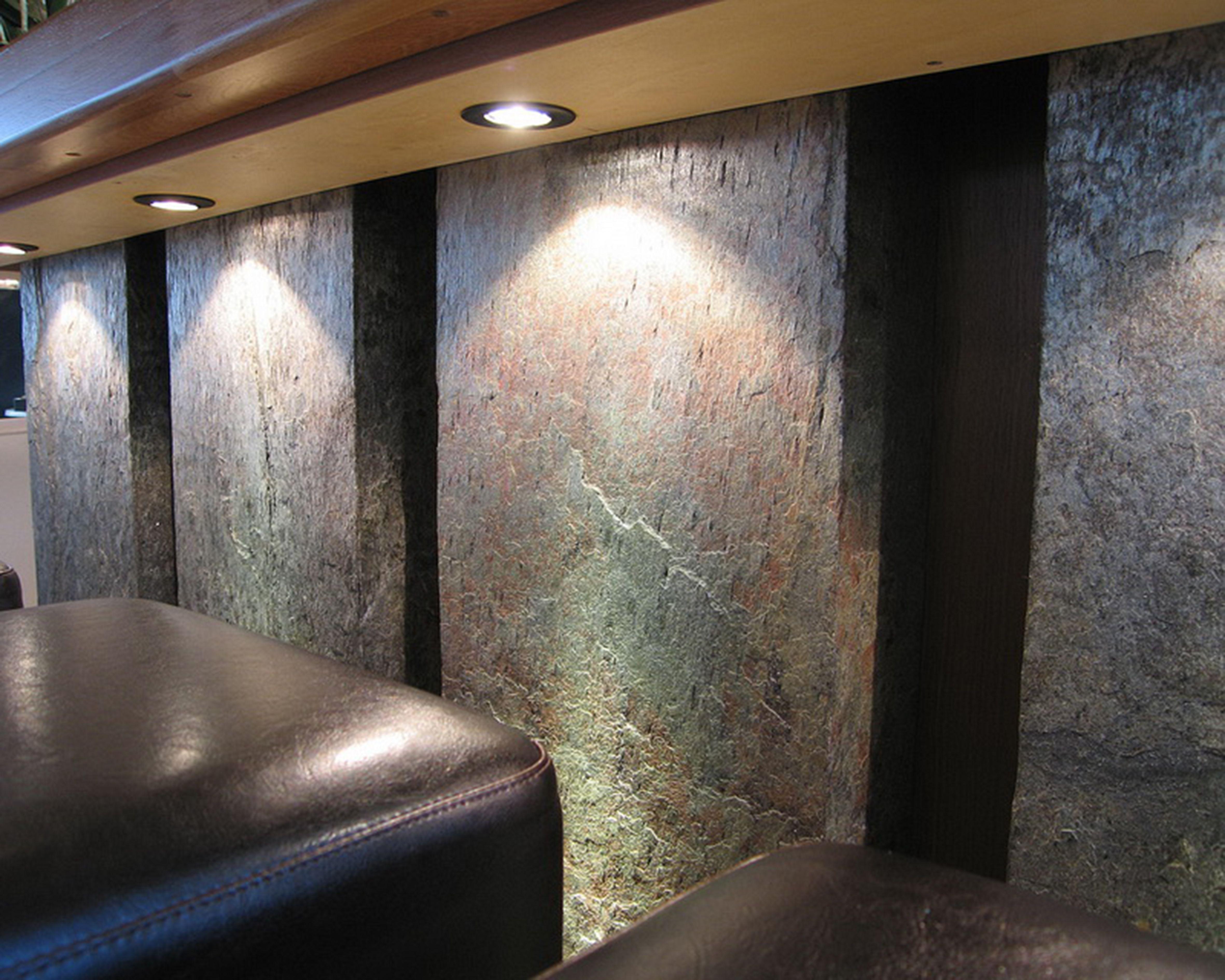 Slate Skin Interni (1) Stone Veneer  A Natural Layered Slate