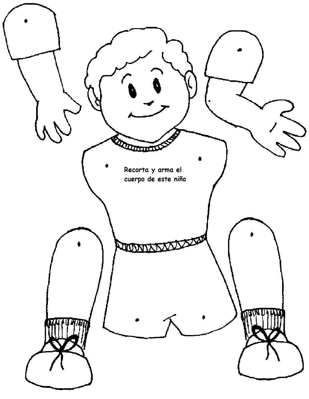 partes del cuerpo humano para colorear - Căutare Google | Vestidos ...