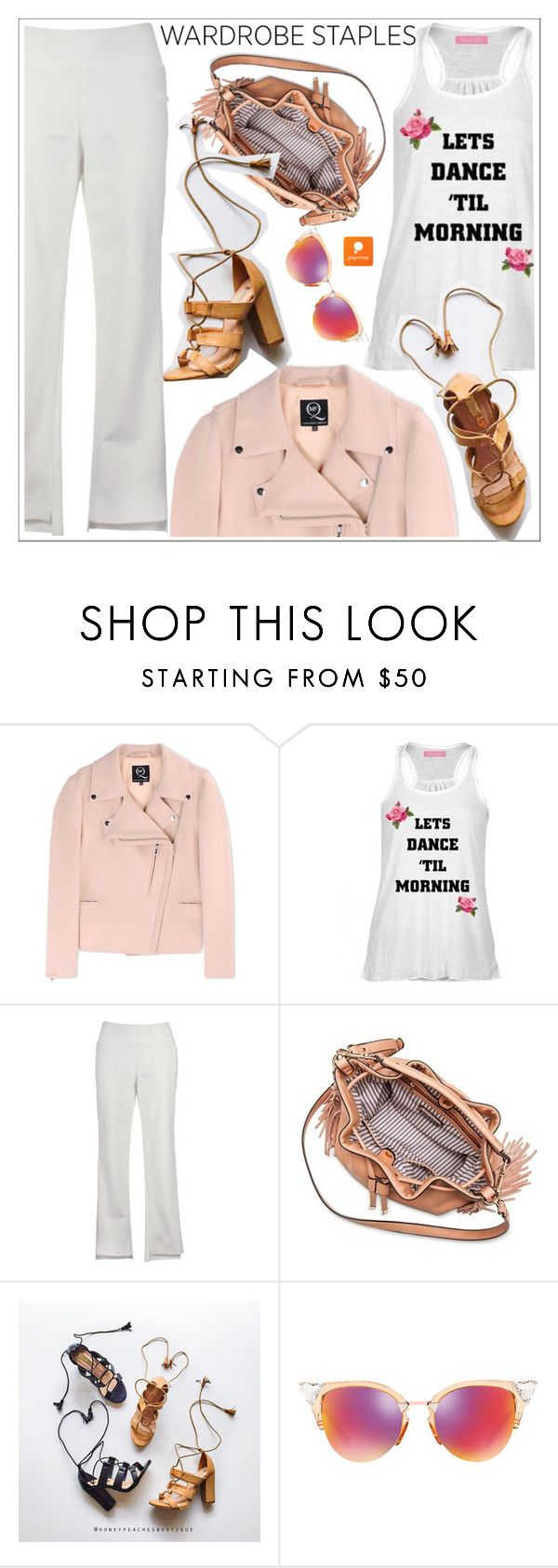 """Waedrobe staples"" by teoecar ❤ liked on Polyvore featuring McQ by Alexander McQueen, Moda Luxe, Billini and Fendi"