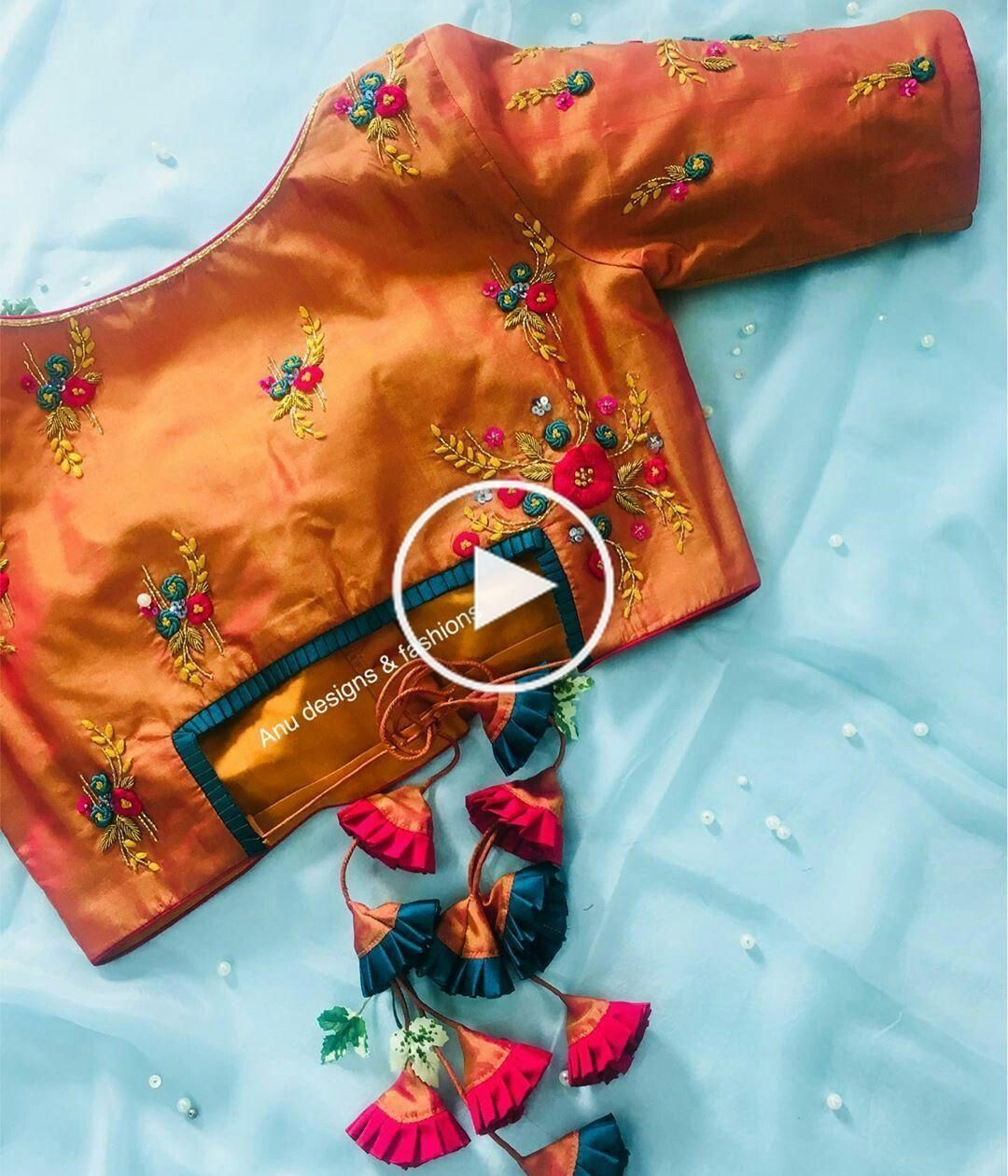 30+ Latest Trending Silk Saree Blouse Designs #blousedesigns New blouse designs