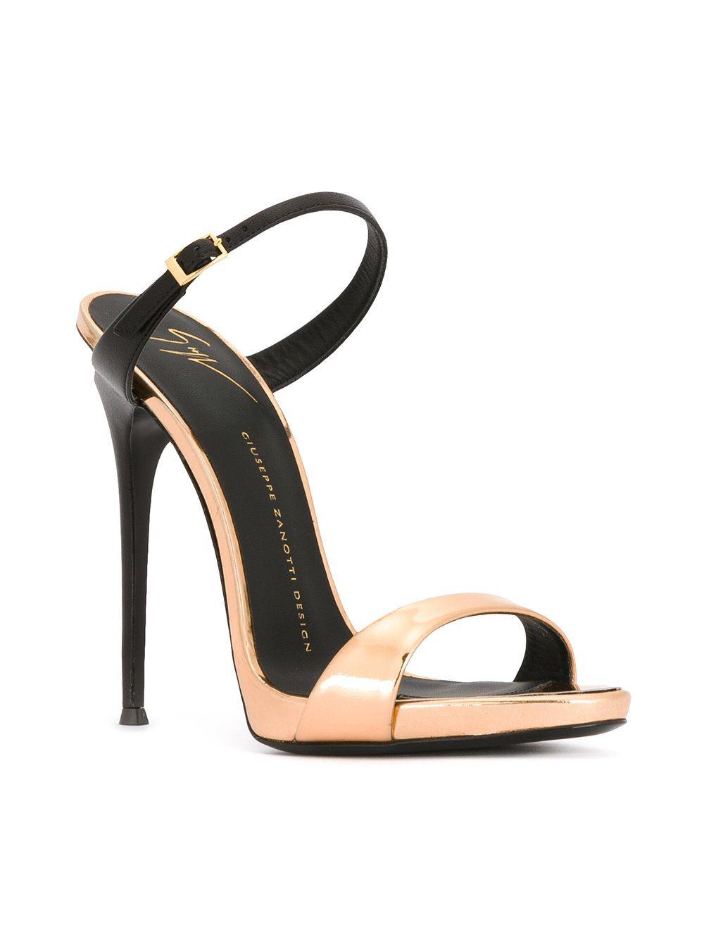 Giuseppe Zanotti Design Tania Sandals Farfetch Giuseppe Zanotti Heels Fashion Heels Heels
