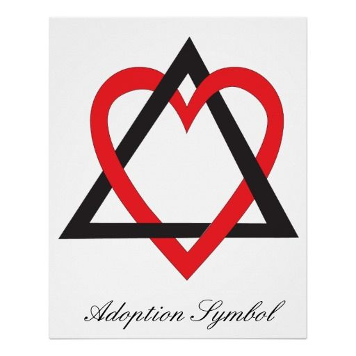 Did You Know There Is A Symbol For Adoption The Triangle Represents
