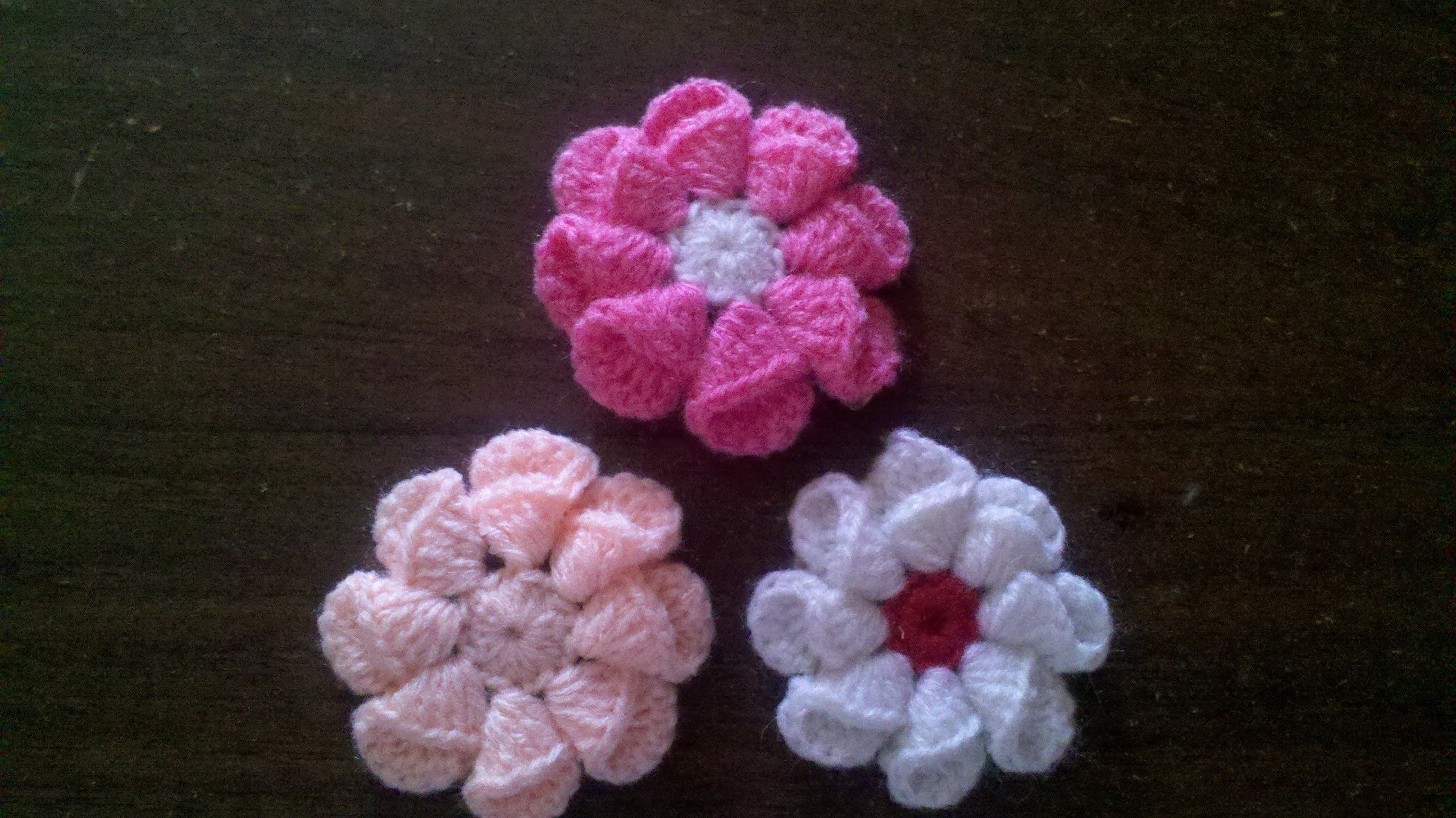Como Hacer Una Flor Facil Y Rapido En Espaol Flores Crochet Rose Crochetflowers Pretty Flower Diagram Tutorial Crochetcrochet Videoscrochet Flowerscrochet