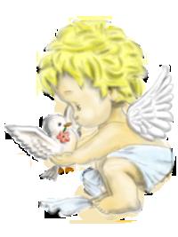 Engel Mit Taufe Gebete Fürbitten Taufe Gebet Und Fürbitten
