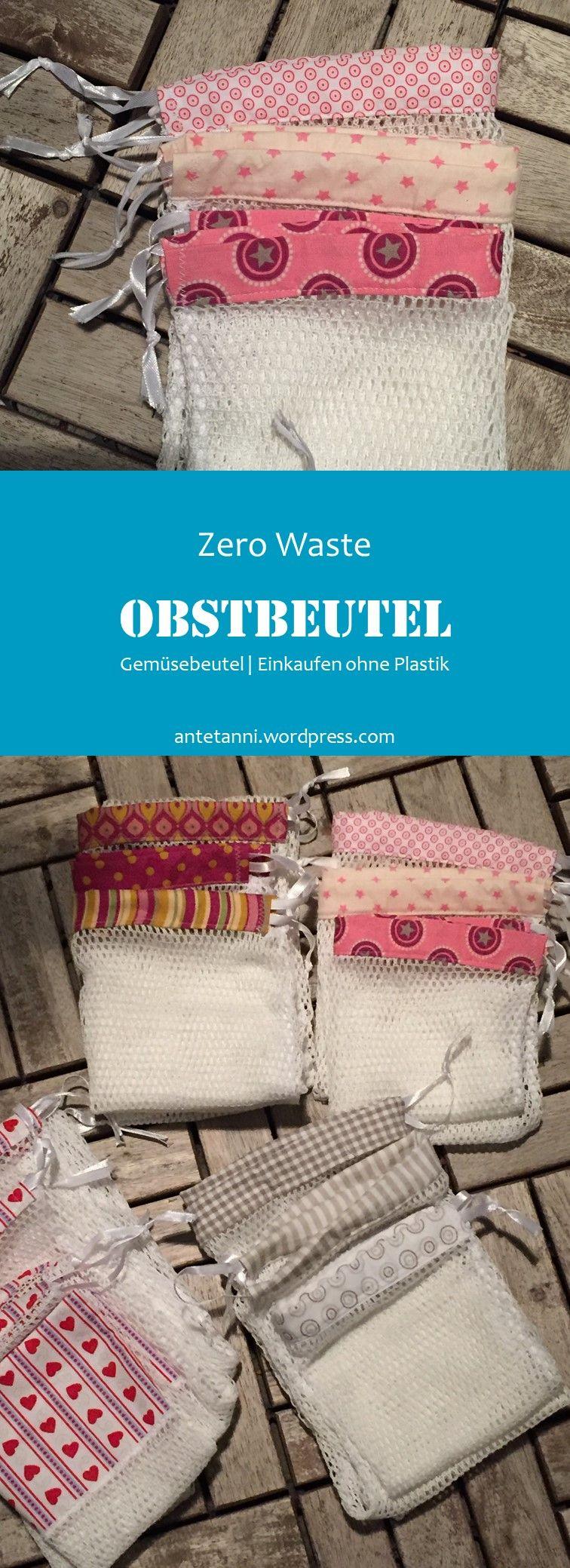 Photo of Zero Wast Obst- und Gemüsebeutel wiederverwendbar
