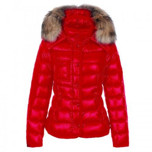 Moncler Damen Armoise Padded Jacke-Rot   Moncler Damen   Pinterest e25650f48c9