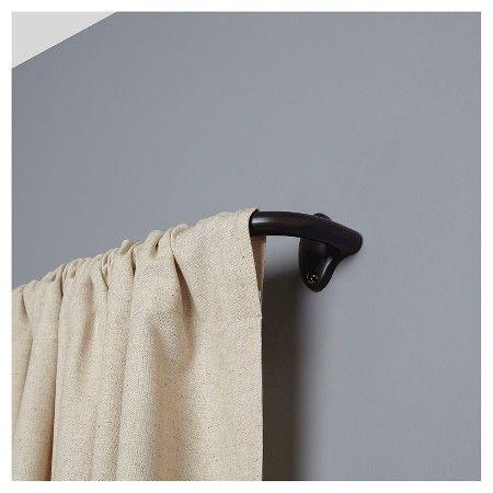 Loft By Umbra Curtain Rod Bronze 28 48 Room Darkening