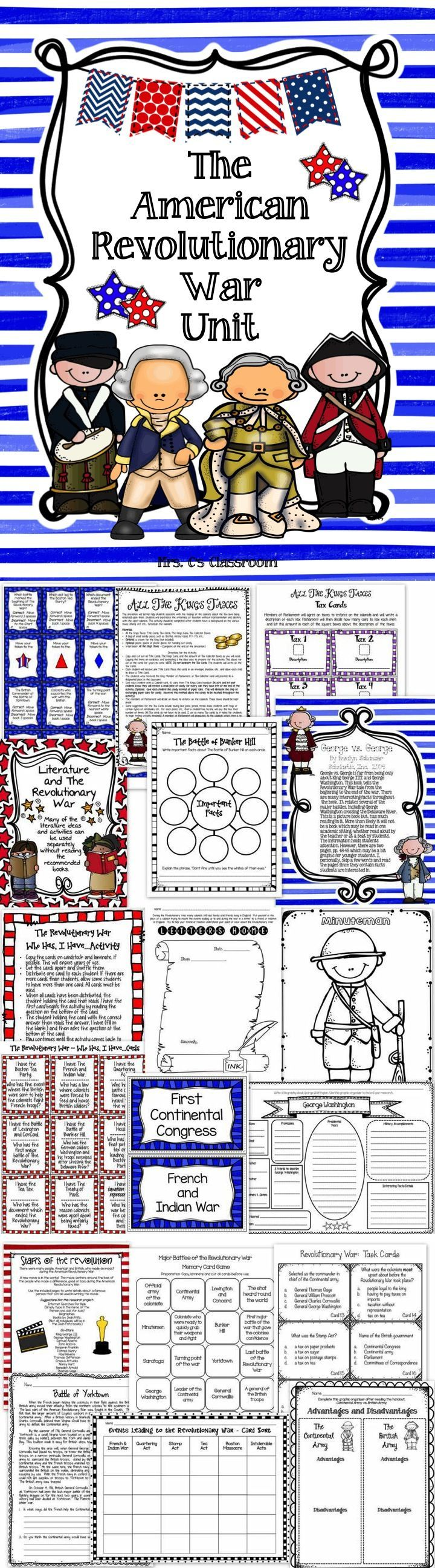 Worksheets American Revolutionary War Worksheets american revolutionary war unit social studies history history
