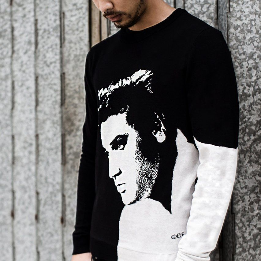 Elvis Profile Sweater - Opening Ceremony x Elvis