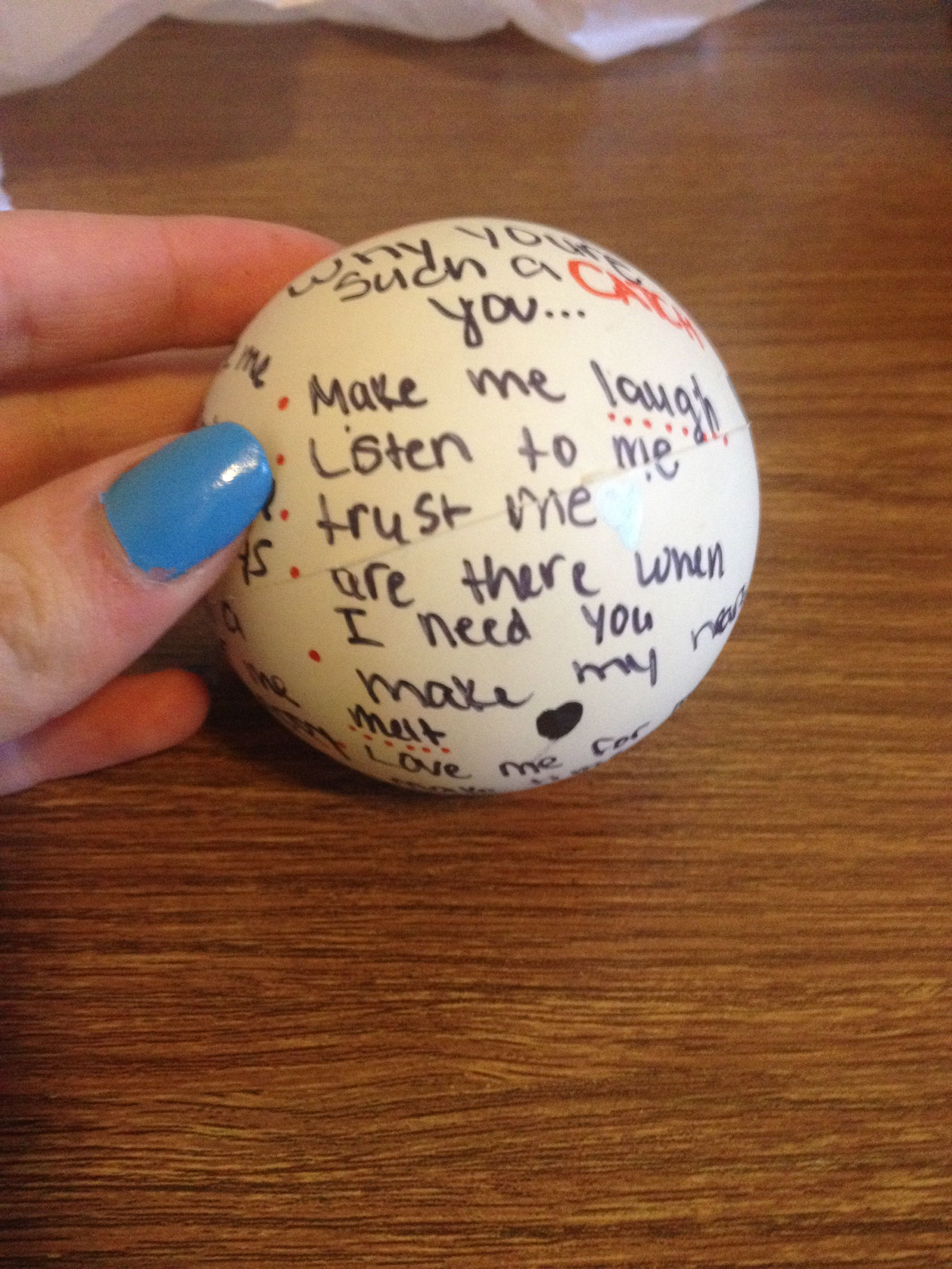 Diy customized lacrosse baseball or football for your