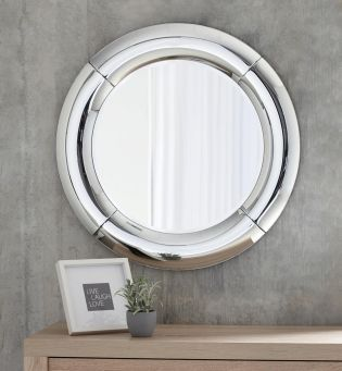 Curved Round Mirror From The Next Uk Online