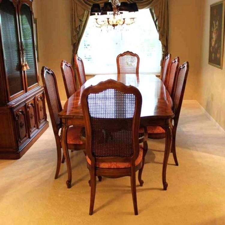 Thomasville Dining Room Sets 1990 Dining Room Sets Thomasville