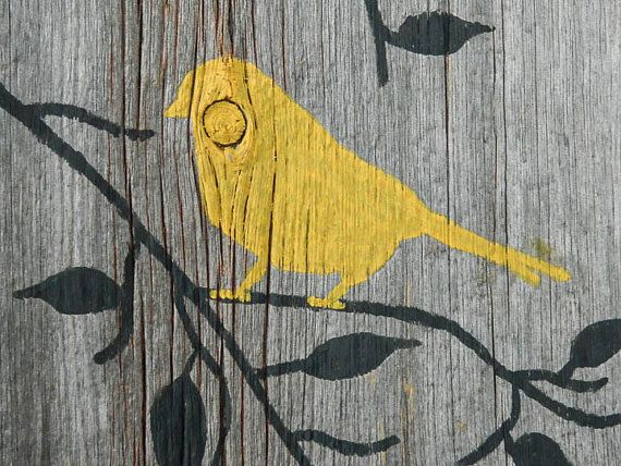 Reclaimed Barnwood Hand-Painted Wood Wall Art by TheDoubleDubs | For ...