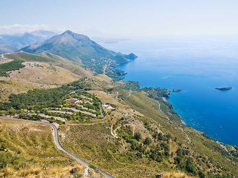 Maratea Italy - View of the Coast