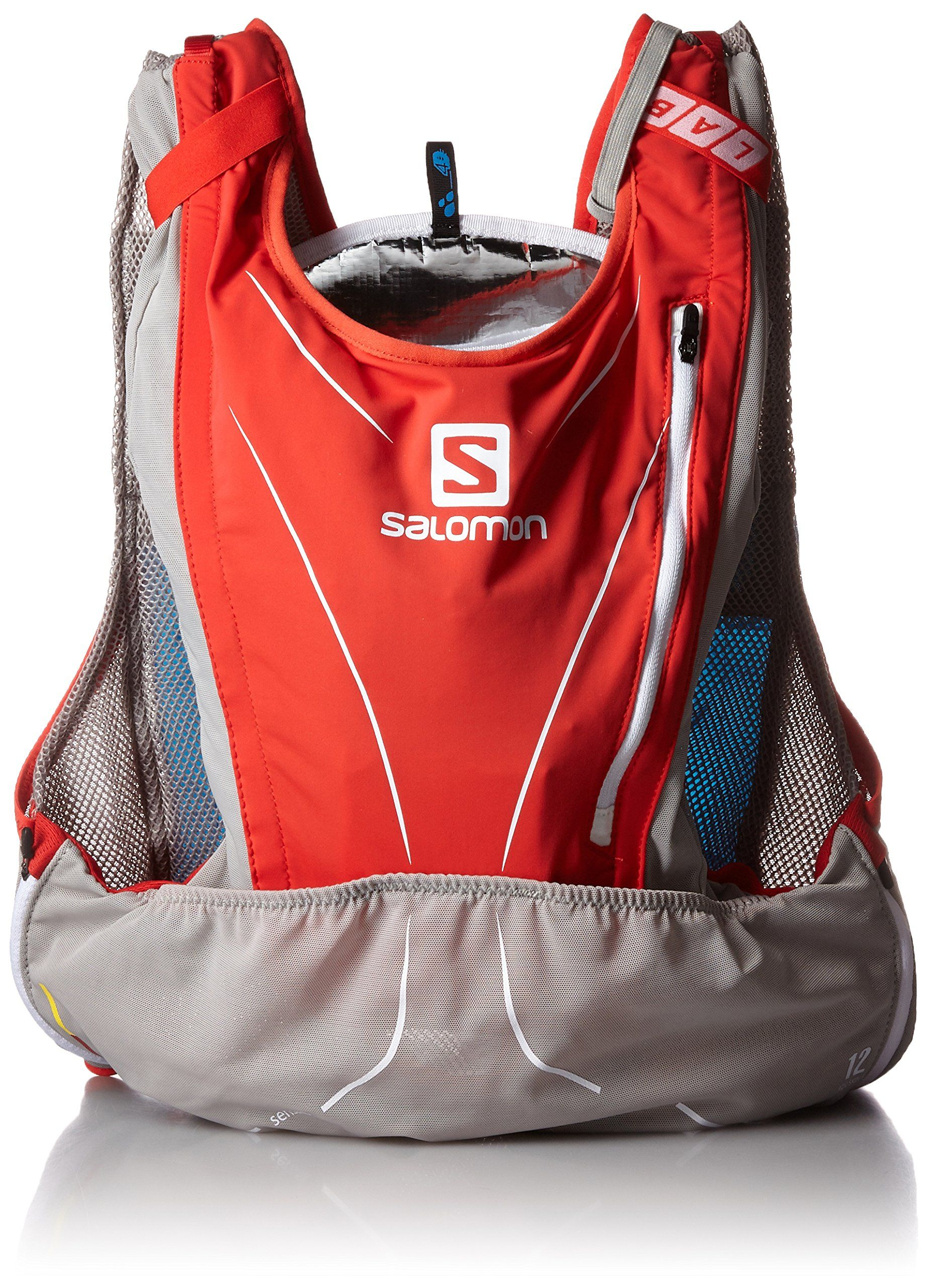 Salomon SLab ADV Skin 12 Set Racing Red / Aluminium M/L