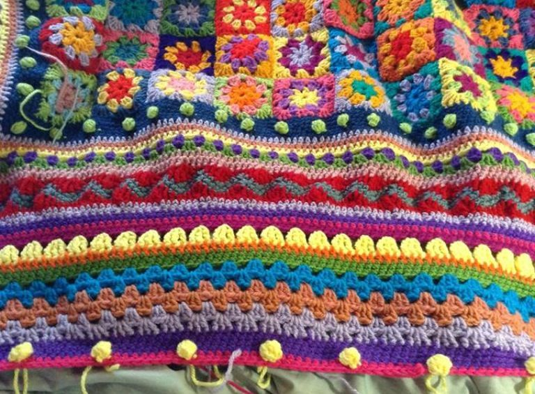 Colour and pattern inspiration from the 67 Blankets for Nelson Mandela Day initiative